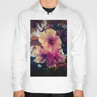 blossom Hoodies featuring Blossom by Monica Georg-Buller