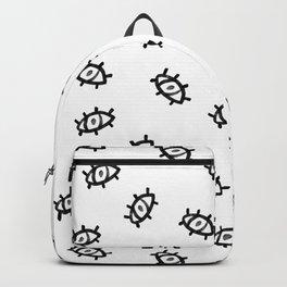 Evil eye miska pattern Backpack