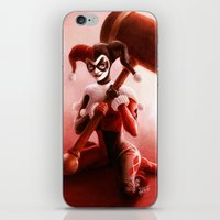 harley iPhone & iPod Skins featuring Harley by fabvalle