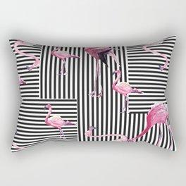 Flamingo Goals Rectangular Pillow