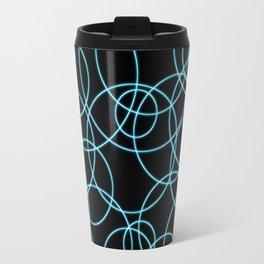 Neon Circles Travel Mug