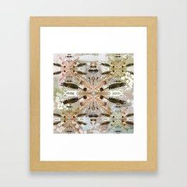 Tribal abstract natural Framed Art Print