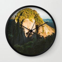 Kahpahlim Rock Sunrise V Wall Clock