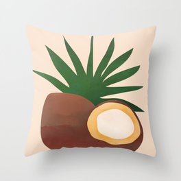 Cocconut Throw Pillow