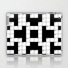 Cool Crossword Pattern Laptop & iPad Skin