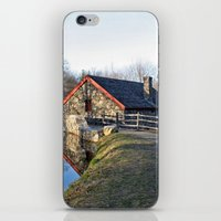 cabin iPhone & iPod Skins featuring Cabin by glomung
