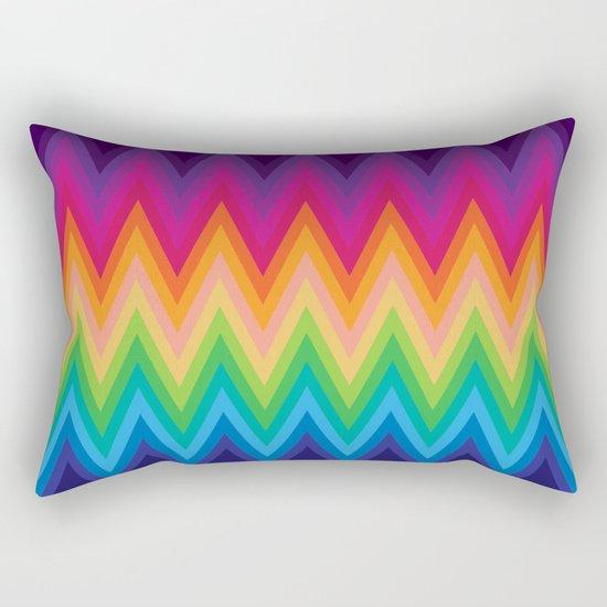 Zig Zag Chevron Pattern G291 Rectangular Pillow
