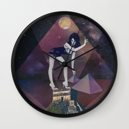 Venus Star Point in Scorpio Wall Clock