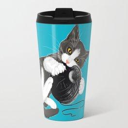 Death Star Kitty Cat Travel Mug