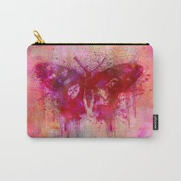 Artsy butterfly watercolor lllustration Carry-All Pouch