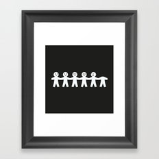Victims of Circumstance Framed Art Print