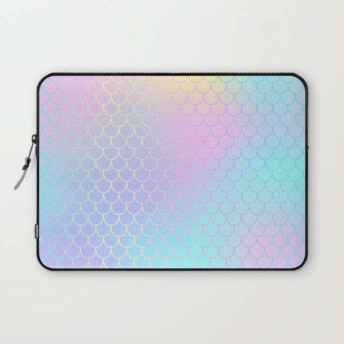 Rainbow Mermaid Abstraction Laptop Sleeve