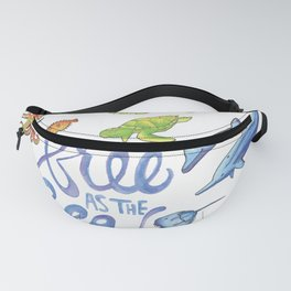 Free as the Sea Fanny Pack