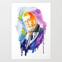 Doctor Who ( John Hurt ) Art Print