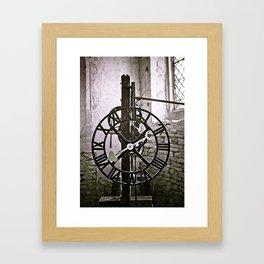 Ten past eight Framed Art Print