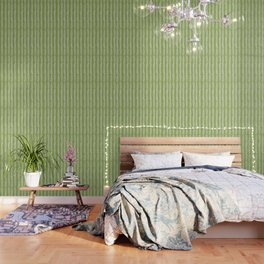 Sap Vines - nature spring leaves green pattern Wallpaper
