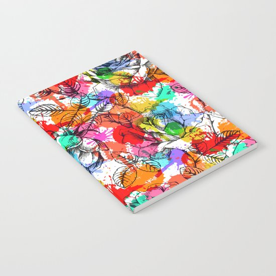 Beautiful Summer Pattern Notebook