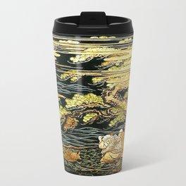 Oriental Landscape Travel Mug