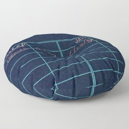 Library Card 797 Negative Floor Pillow