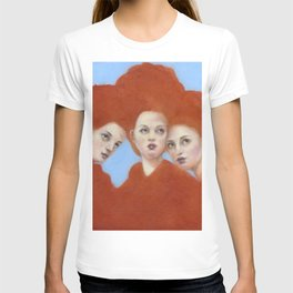 Mama & Her Babes T-shirt
