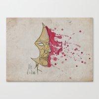 LadyPink Canvas Print