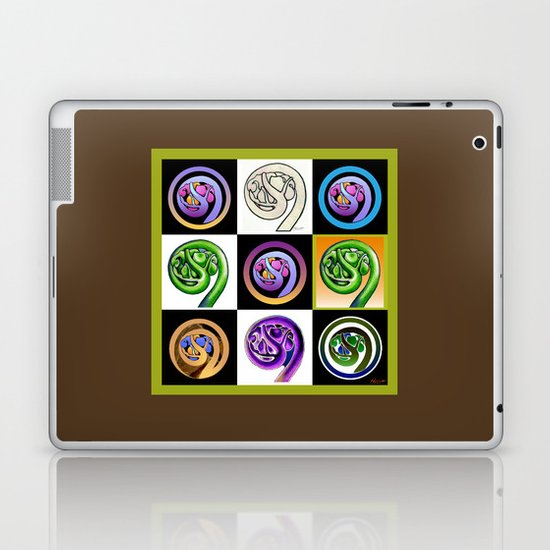 Koru Mania Laptop & iPad Skin