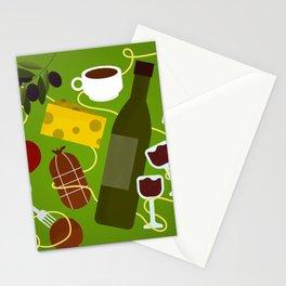 Italian Food Stationery Cards
