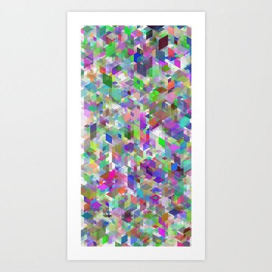 Panelscape - #1 society6 custom generation Art Print