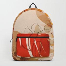 tropical leaves fall II Backpack