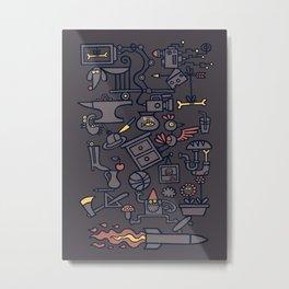 All Things in Balance Metal Print