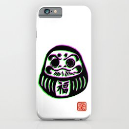 Holo Daruma iPhone Case
