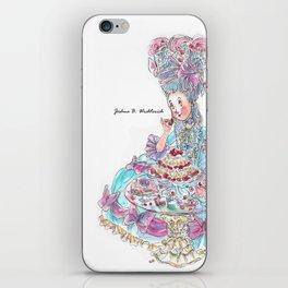 Marie Antoinette: Eat Cake iPhone Skin