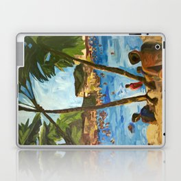 """Welcome to Streets Beach"" Laptop & iPad Skin"
