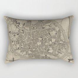 Bruges 19th Century Rectangular Pillow