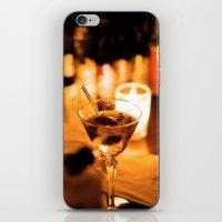 martini iPhone & iPod Skins featuring Martini by Ann Yoo