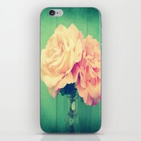 roses iPhone & iPod Skins featuring Roses by 2sweet4words Designs