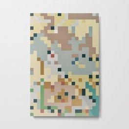 Pixelmania XIV Metal Print