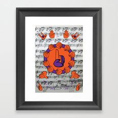 If I were you, if you know God's hand is with you, I won't Worry a bit about my _____ Framed Art Print