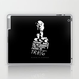 Alfred Hitchcock Master of Suspense Movie Psycho Laptop & iPad Skin