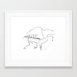 Keith Jarrett – Improvisations in Jazz Framed Art Print