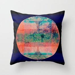 The Moon Made Me Do It Throw Pillow