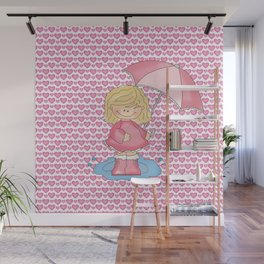 Puddle Jumper Girl Wall Mural