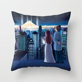 The Ancient Chronicle Cover Throw Pillow