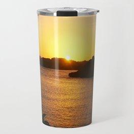 Roatan Sunset Travel Mug
