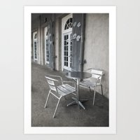 cafe Art Prints featuring Cafe by David Turner