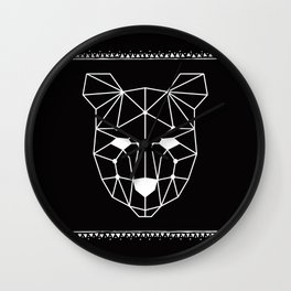 Totem Festival 2015 - White & Black Wall Clock