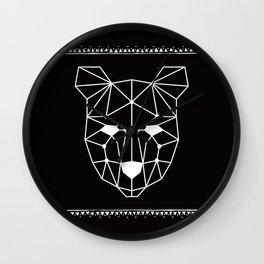 Totem Festival 2015 - White & Black Wall Clock