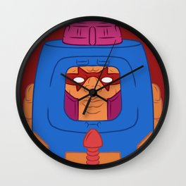 Man-E-Faces Wall Clock