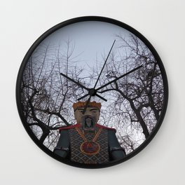 king of the prater Wall Clock