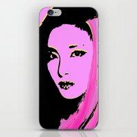 2ne1 iPhone & iPod Skins featuring Sandara Park (Dara - 2NE1) by Hileeery